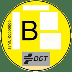 Etiqueta medioambiental B