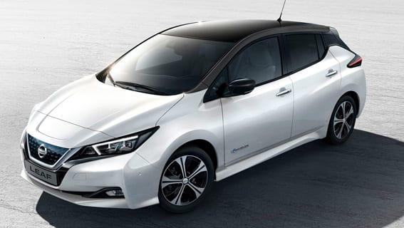 Nissan Leaf de ocasión en Madrid
