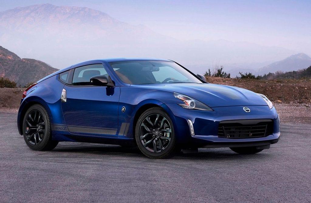 Nissan 370z azul cobalto