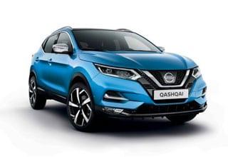 Nissan Qashqai Tekna+ azul eléctrico
