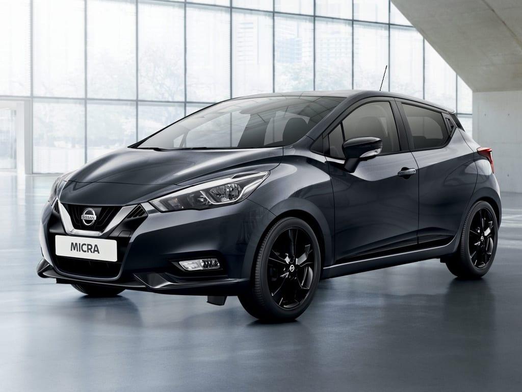 Nissan Micra color gunmetal grey