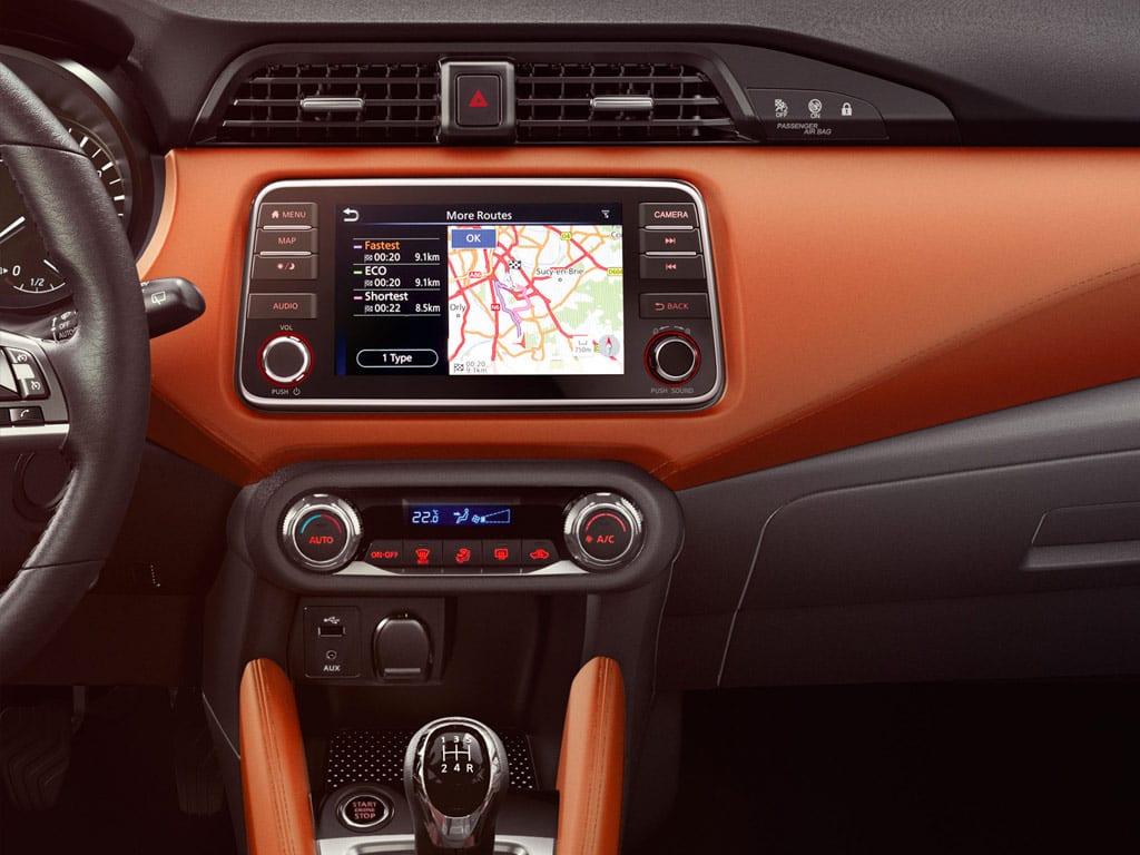 Nissan Micra con navegación GPS