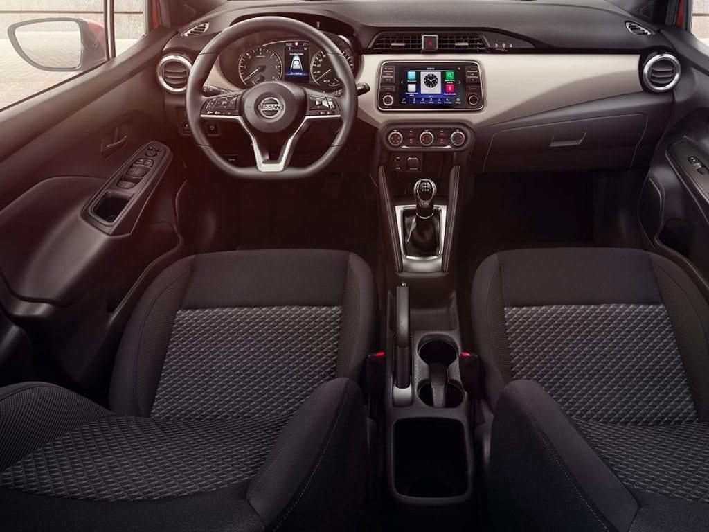 Diseño interior y confort del Nissan Micra