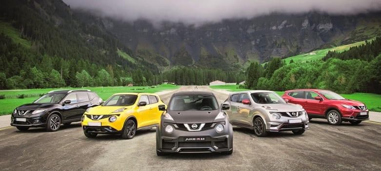 Modelos de Nissan