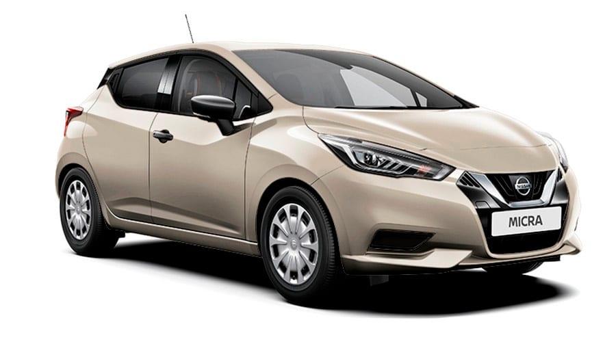 Nissan micra en color IVORY