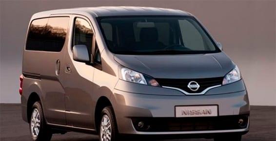 Diseño exterior del Nissan Evalia
