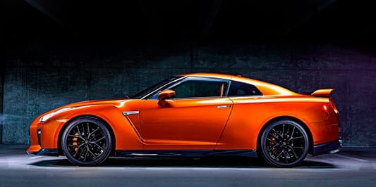 Nissan GTR Diseño exterior
