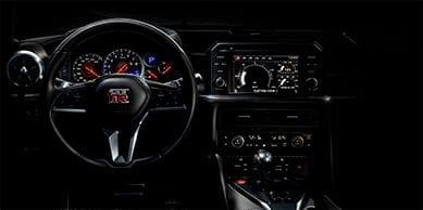 Cuadro de mandos del Nissan GTR