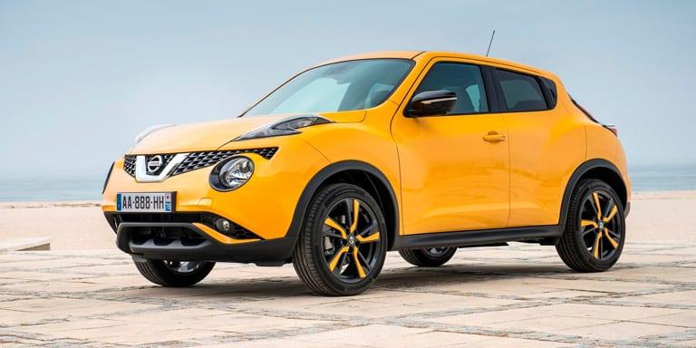 Diseño exterior del Nissan Juke