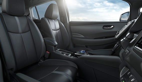 Nuevo diseño interior del Nissan Leaf
