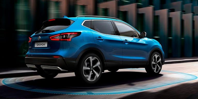 Nissan Qashqai Azul Vivid diseño exterior