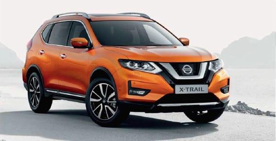 Diseño exterior del Nissan X Trail 4x4