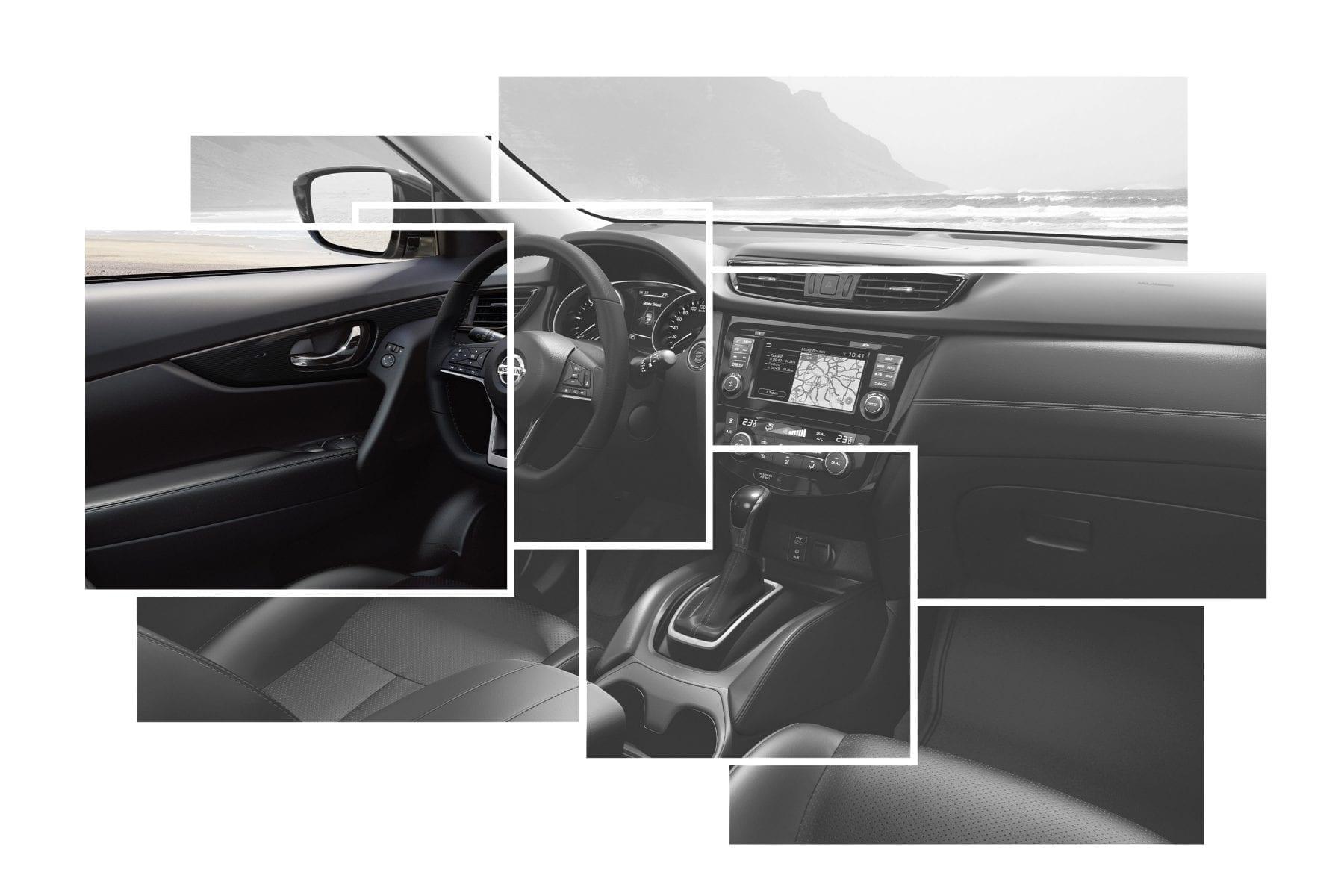 diseño interior del Nissan X Trail y dimensiones