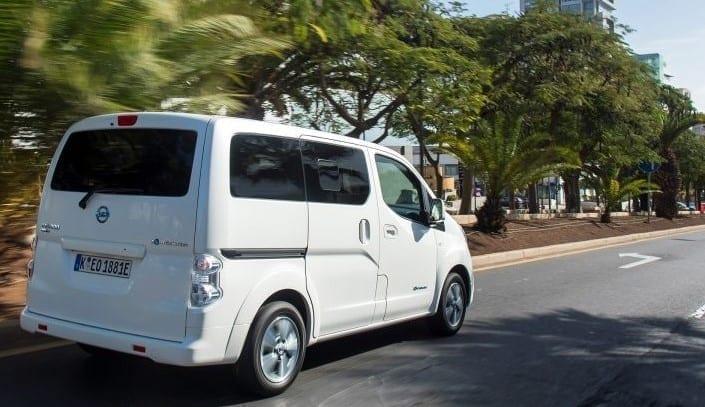 Características y equipamiento del Nissan Evalia
