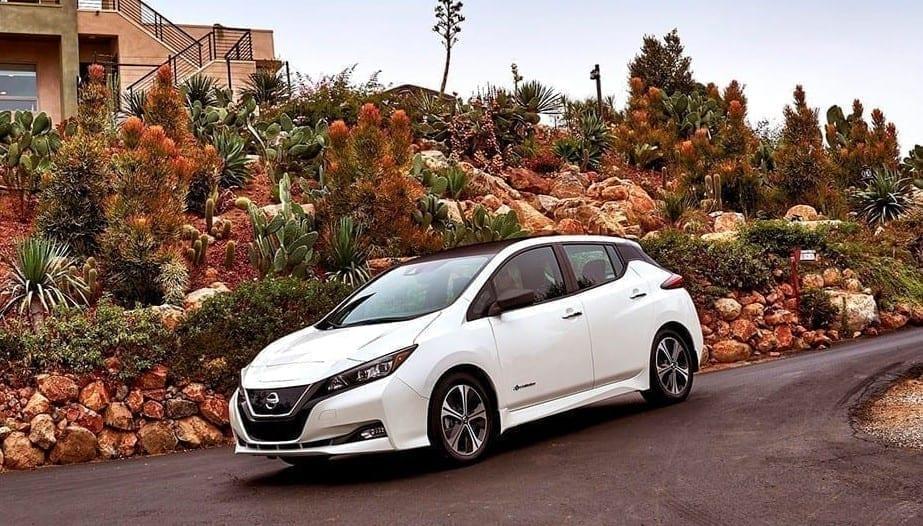 Diseño exterior del Nissan Leaf