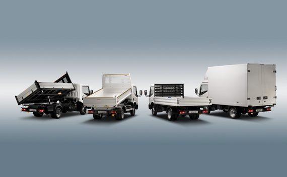 Características y Equipamiento Nissan NT400