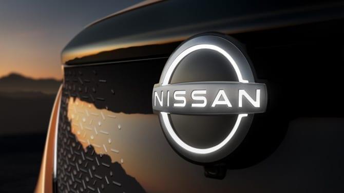Logo Nissan Ariya